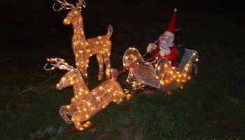 Gommla: Weihnachtswunderland erstrahlt im Lichterglanz