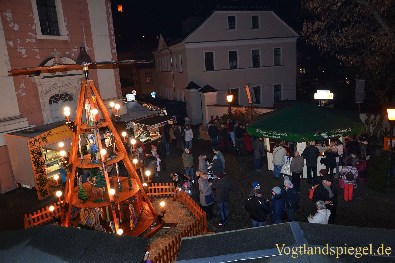 Heimeliges Weihnachtsflair auf dem Weihnachtsmarkt in Greiz