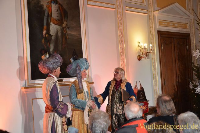 Romantische Fürstenweihnacht im Greizer Schloss