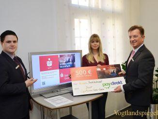 Sparkasse Gera-Greiz: Aileen Hochlechner gewann beim Paydirekt-Spiel