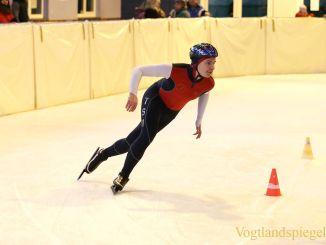Eissportfläche Greiz: 10. Vogtlandspiele im Eiskunst-und Eisschnelllauf