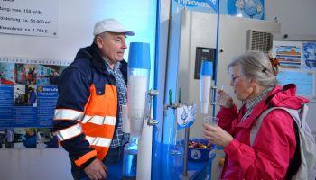 TAWEG Greiz: Besucherrekord am Hochbehälter Herrenreuth
