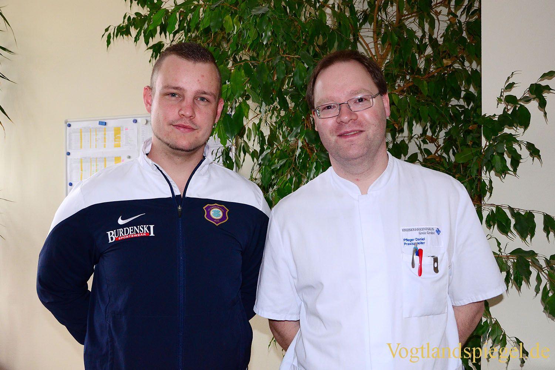 Kreiskrankenhaus Greiz: Schüler setzen Theorie in die Praxis um