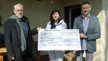 Diakonieverein Carolinenfeld: Haus Tigerente erhält Spende