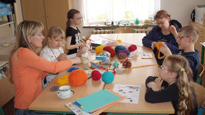 Frühlingsfest und Projekttag an Irchwitzer Grundschule