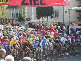 Greizer Radsportler bei der 15. Ostthüringen Tour 2017