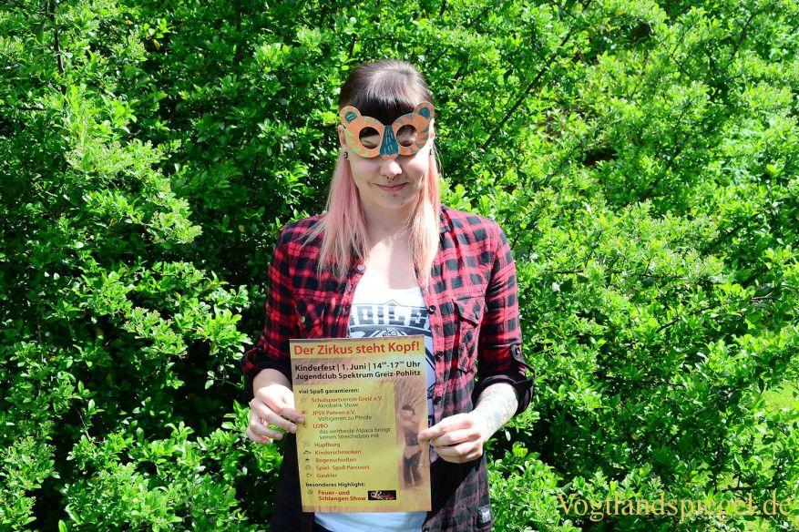 Kindertag in Greiz: Der Zirkus steht Kopf