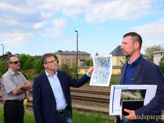 Neustadtverein Greiz: Hochwasserschutz als Thema des Neustadtrundgangs