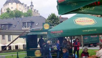 Himmelfahrt im Greizer Schlossgarten