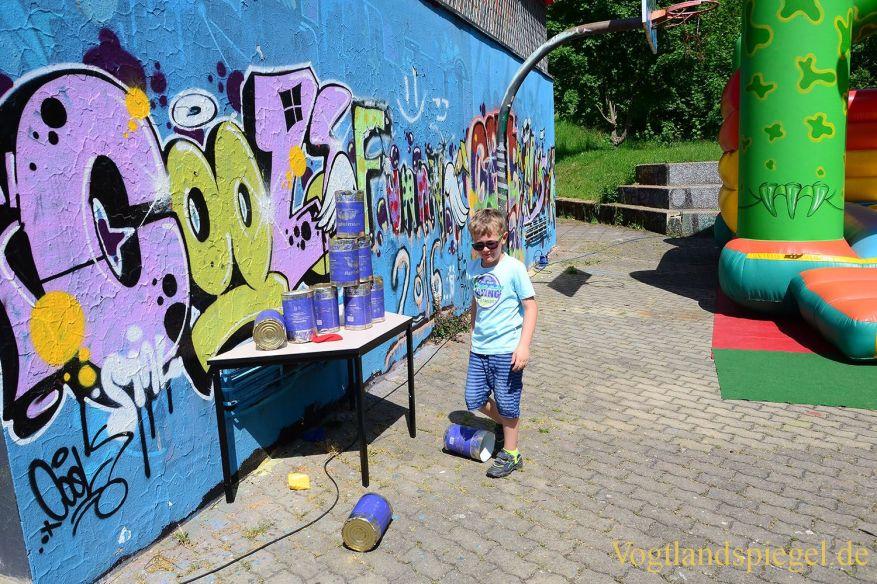 Kindertag im Spektrum: Der Zirkus stand Kopf
