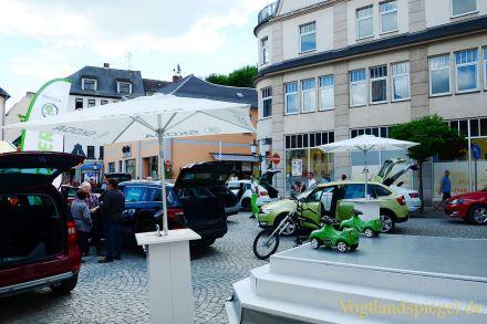 Buntes Programm zum Greizer Park und Schlossfest
