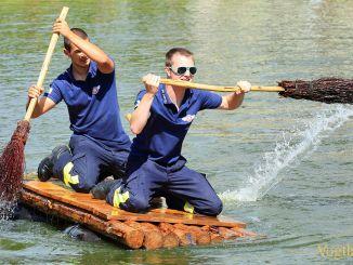 Sommerfest in Zoghaus: 17. Traditionelles Floßrennen
