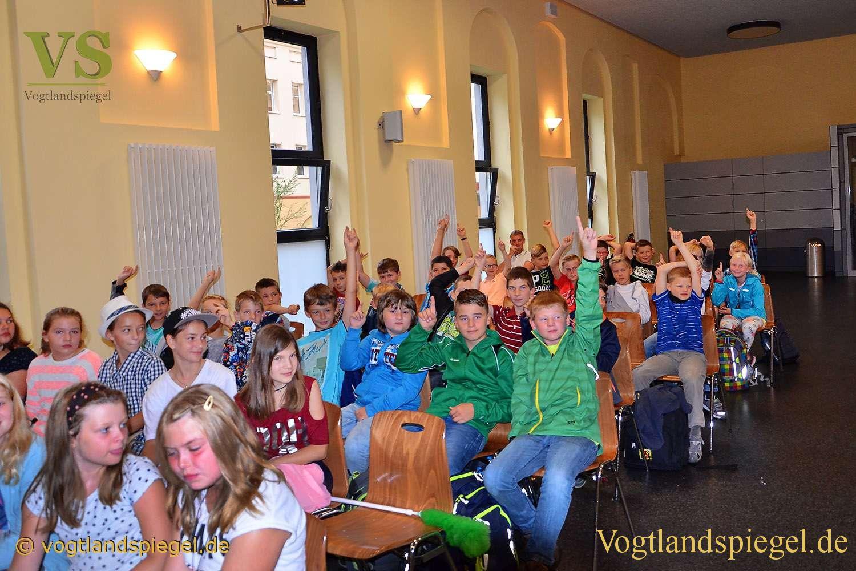 Ulf-Merbold-Gymnasium Greiz: 62 Fünftklässler herzlich begrüßt