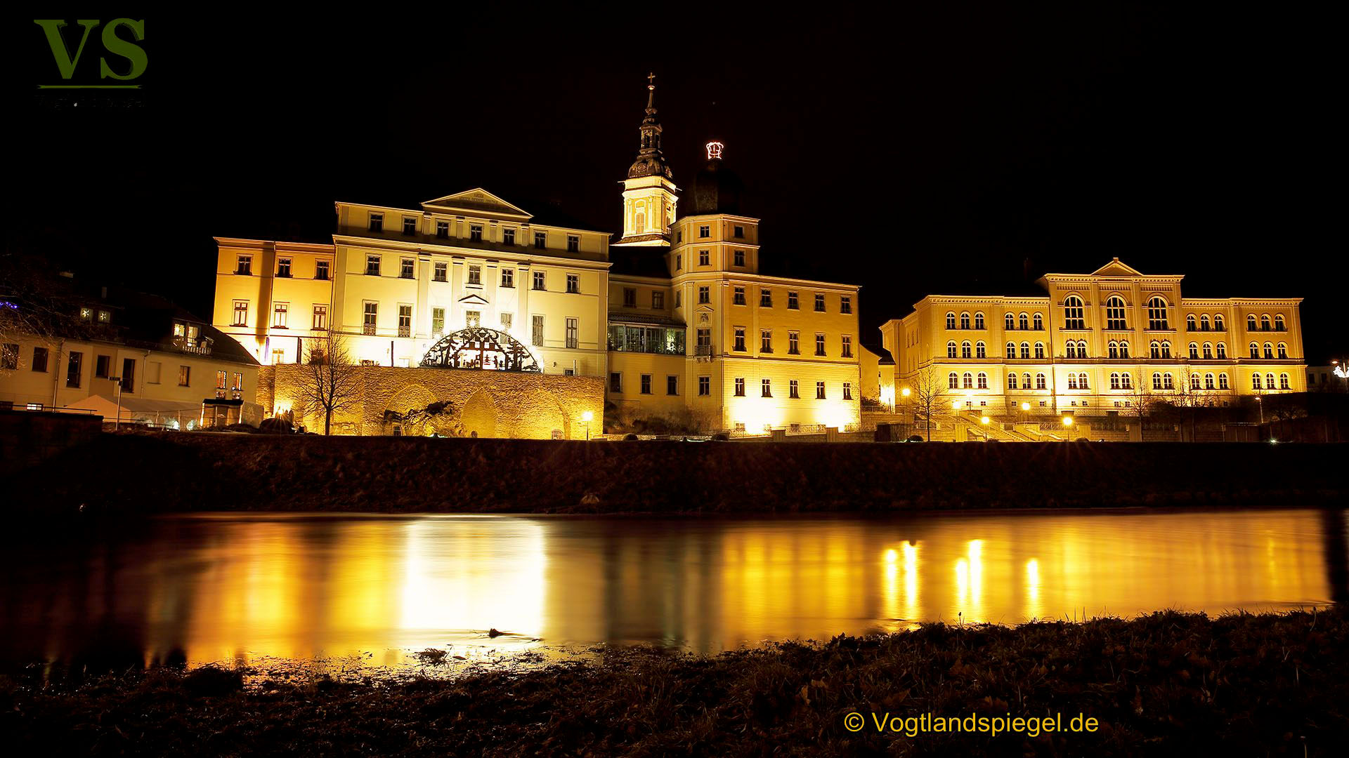 Fürstliche Schloss und Residenzstadt Greiz 2017