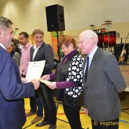 Empfang des Greizer Bürgermeisters: Roter Teppich für das Ehrenamt