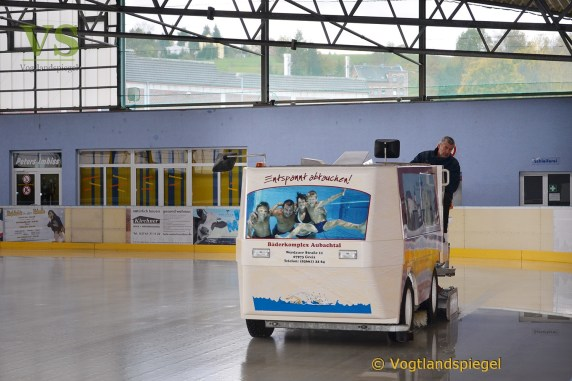 Am 31. Oktober startet die 19. Greizer Eislaufsaison