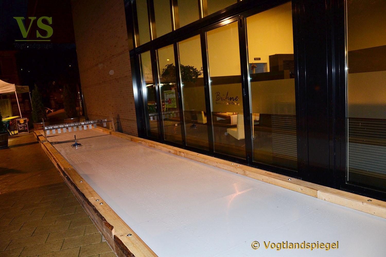 Neu in Greiz: Eisstockschießen in geselliger Runde