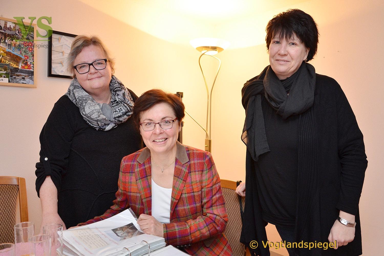 Thüringens Finanzministerin Heike Taubert stattet Wohnprojekt 55plus Besuch ab