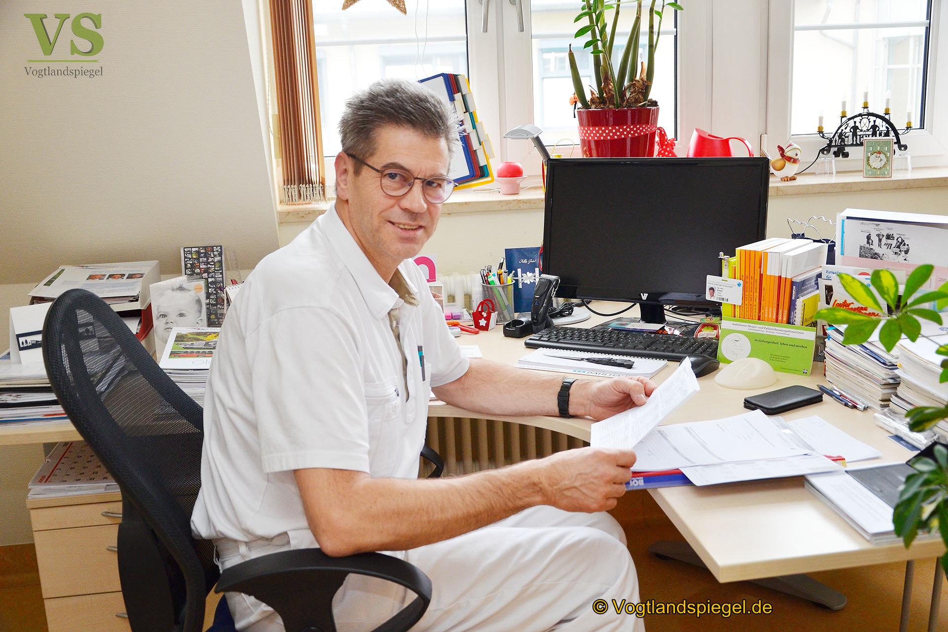 Chefarzt Ulrich Köhler: Wir haben die entsprechende Stabilität erreicht