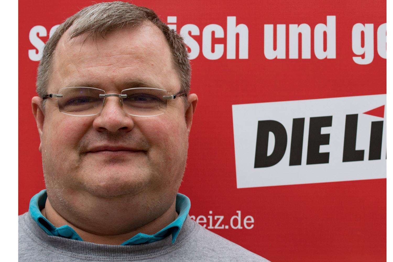 DIE LINKE.Greiz: Holger Steiniger für die Bürgermeisterwahl nominiert