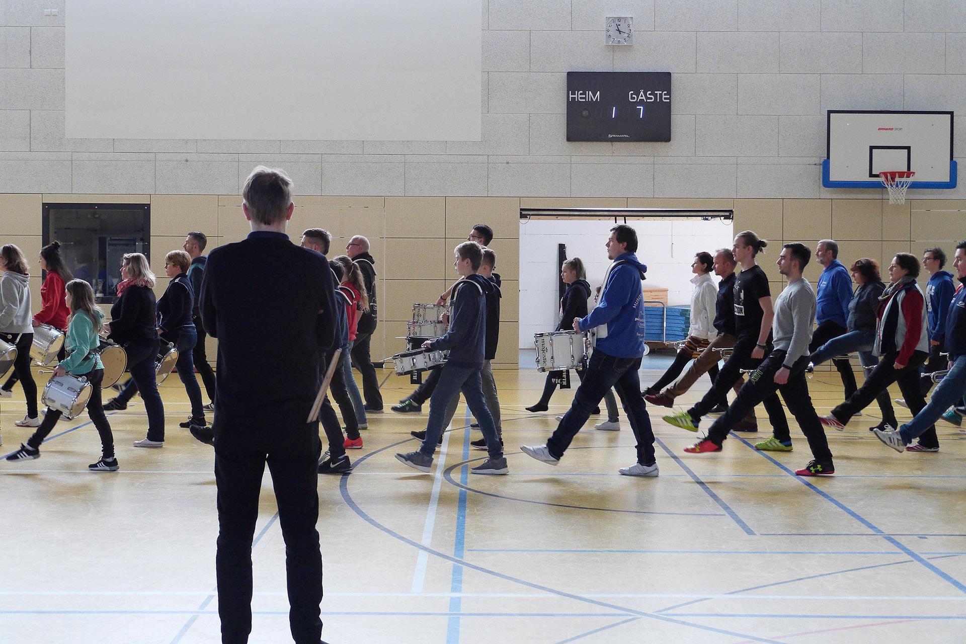 Fanfarenzug Greiz organisierte zum zweiten Mal einen Wochenend-Workshop