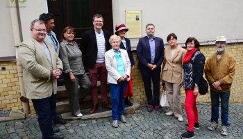 Stadt Greiz würdigt Hansgeorg Stengel