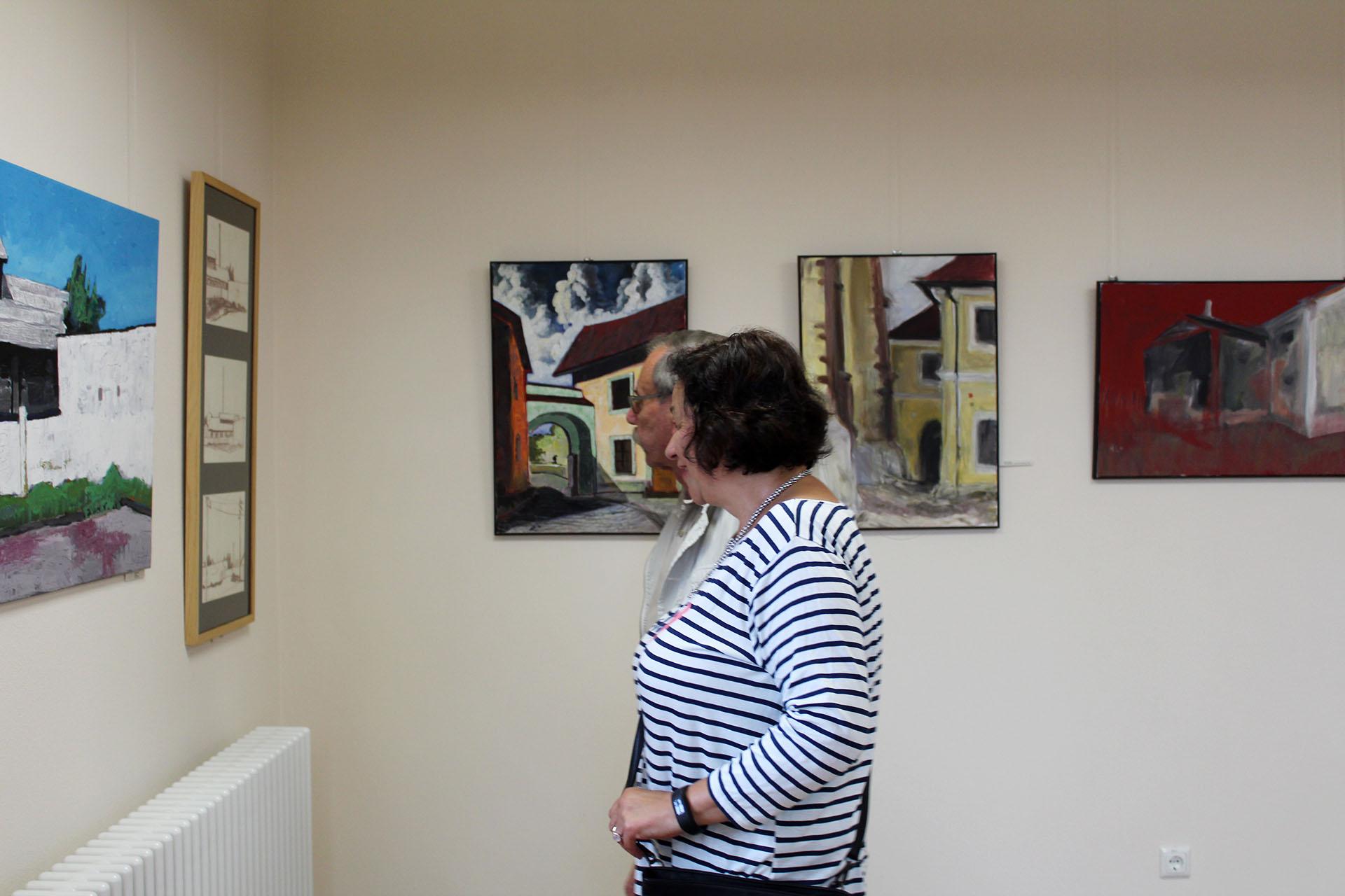 """Ausstellung """"Greiz trifft Rokycany – Rokycany splnuje Greiz"""" eröffnet"""