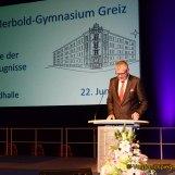Ulf-Merbold-Gymnasium Greiz: 74 junge Frauen und Männer erhalten Abiturzeugnisse