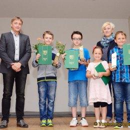 Kreisjugendspiele des Landkreises Greiz 2018: Ehrung der erfolgreichen Sportler
