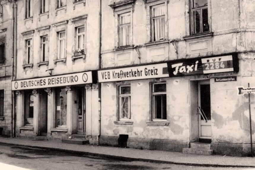 5. Oktober 1978 – der Busbahnhof in Greiz wird eröffnet