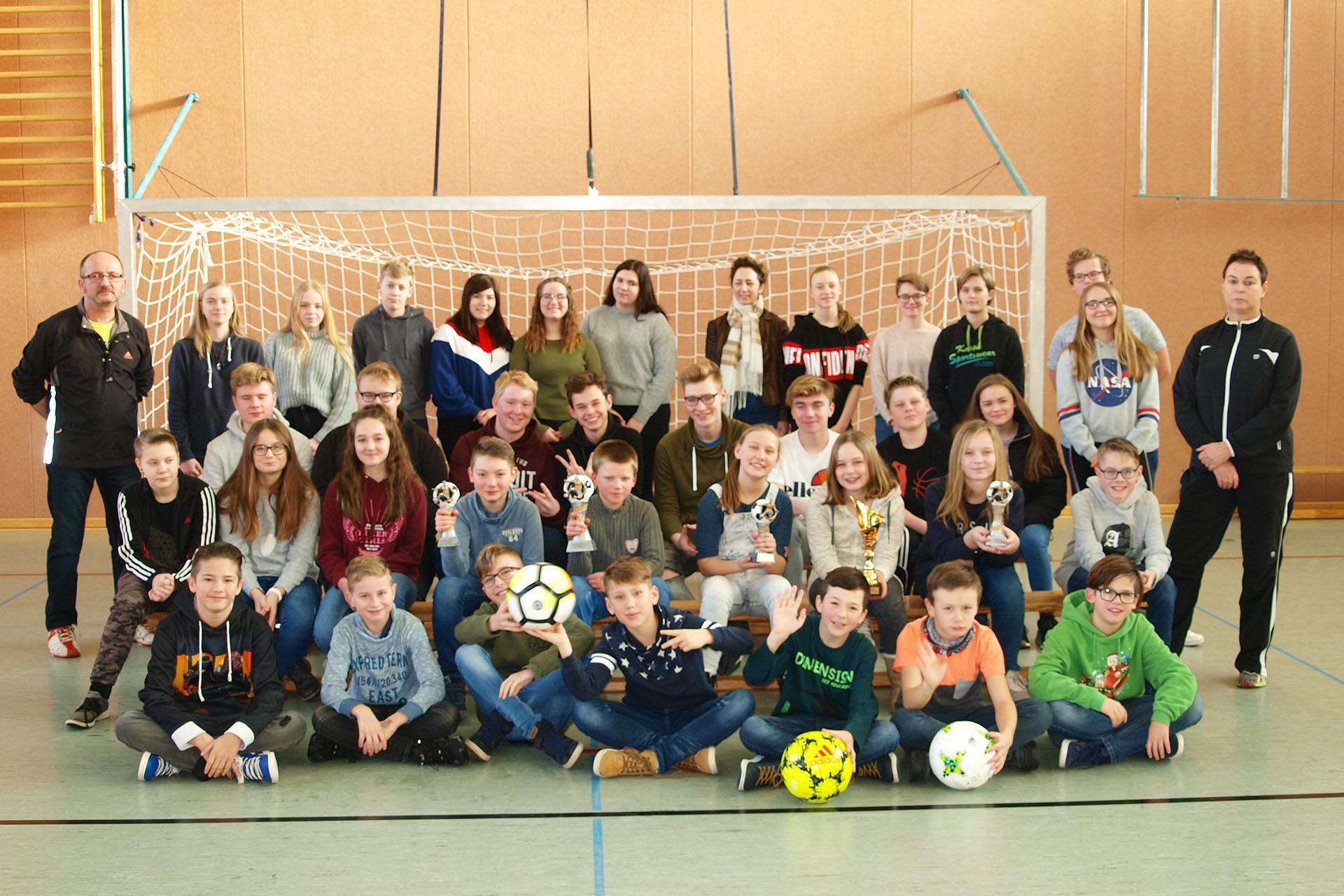Staatliche Regelschule Greiz-Pohlitz holt den Rudi Geiger-Pokal
