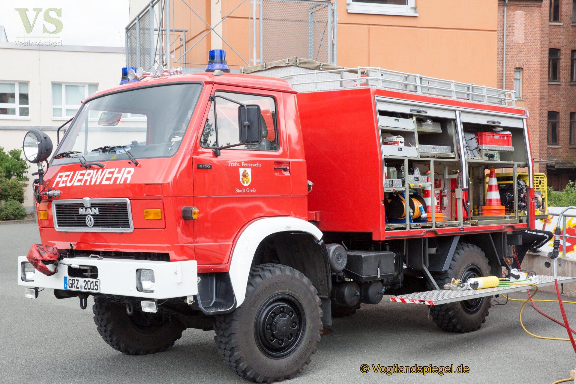 Das Fest der Greizer Freiwilligen Feuerwehr stieß wieder auf große Resonanz