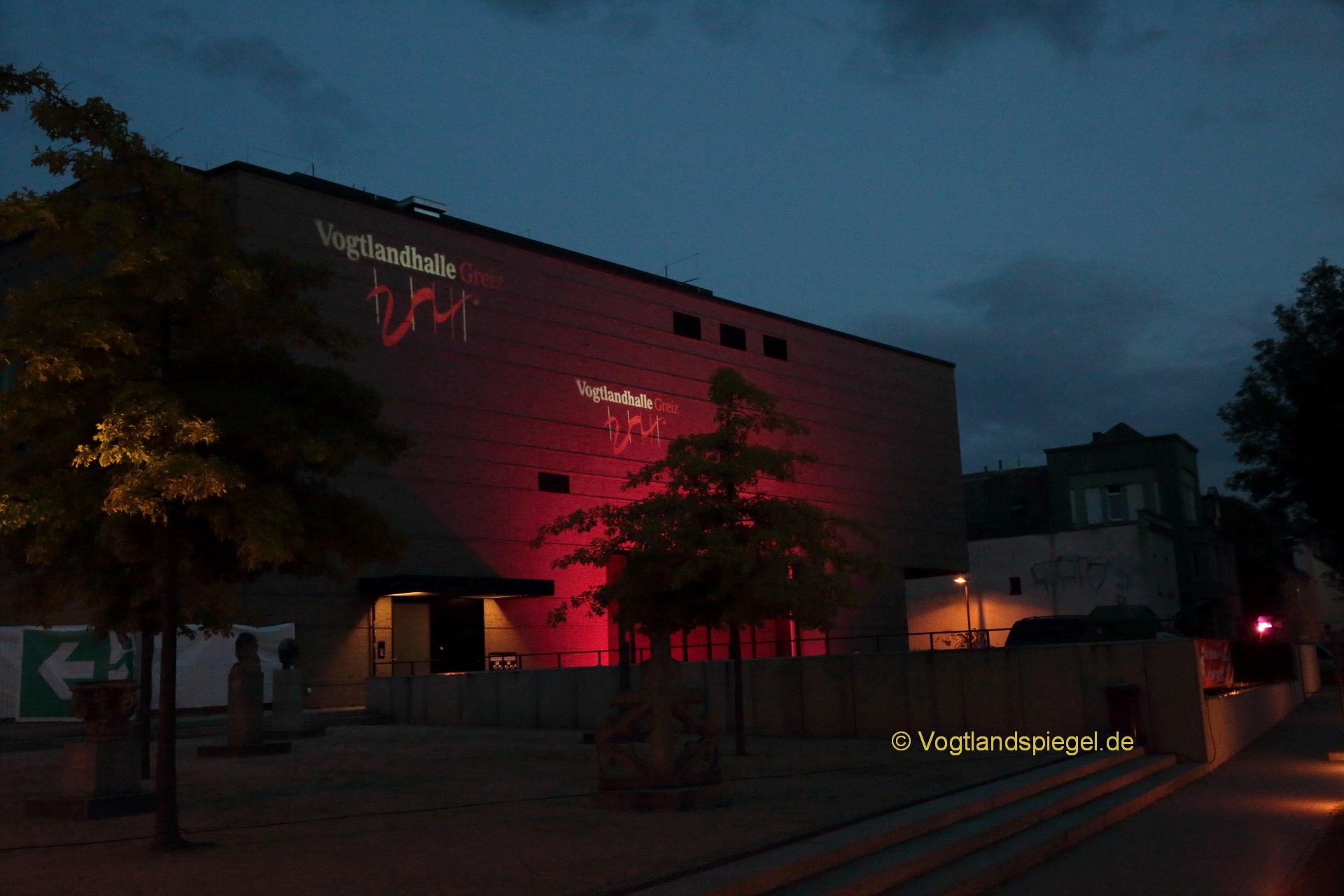 Vogtlandhalle Greiz: Zehnjähriges Jubiläum nachgefeiert
