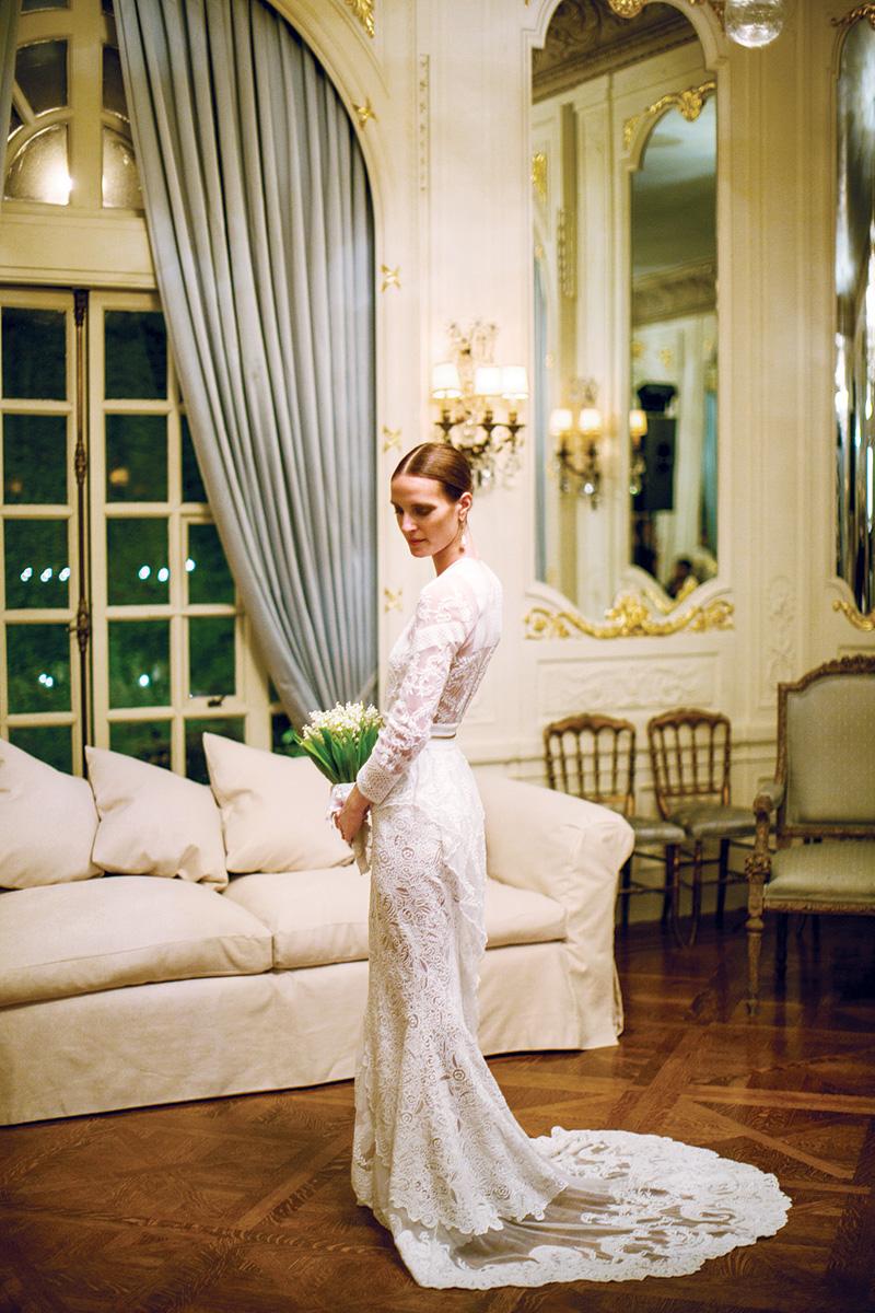 Family Style Vanessa Trainas Intimate Wedding In San