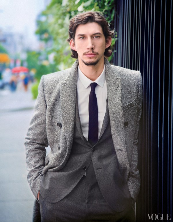 Six More Questions for Girls' Adam Driver - Vogue