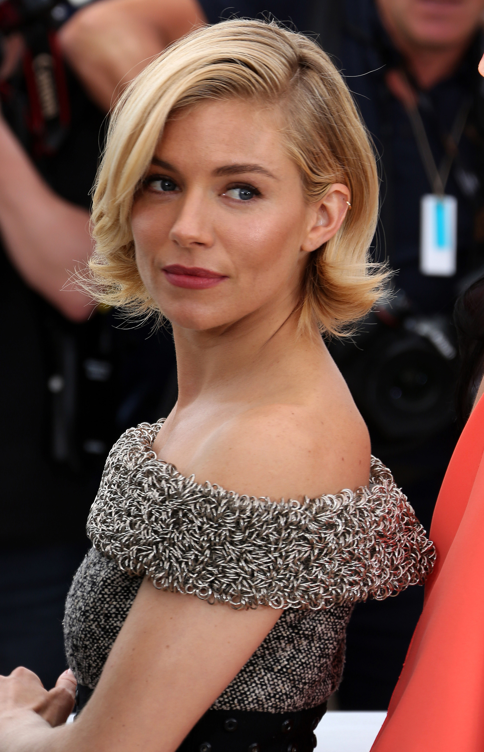 Sienna Miller Does Classic Cannes Beauty Her Polished Bob