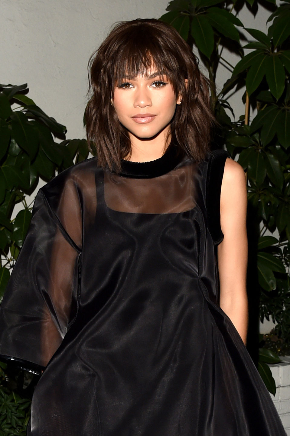 Zendaya Debuts A Shoulder Length Shag And Bangs Vogue