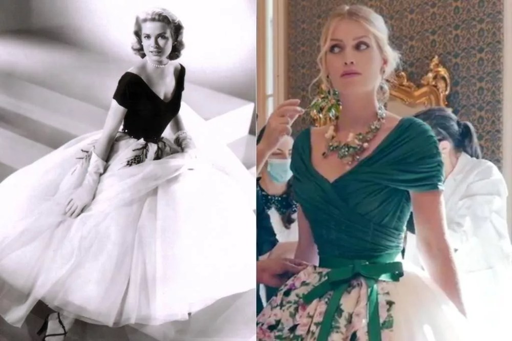 Grace Kelly (1954) and Lady Kitty Spencer (2021)