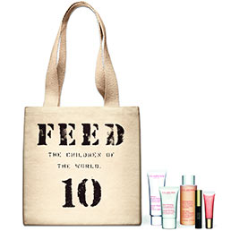 Shopping bag Feed 10 Clarins