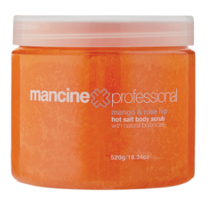 Mancine Hot Salt Body Scrub- Vogue Beauty