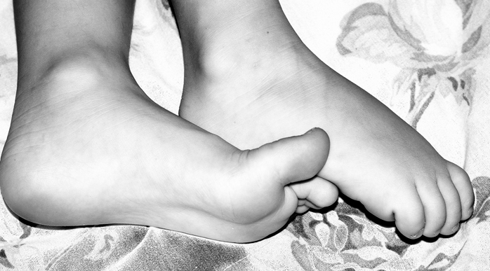 Improving feet- foot care, step by step!