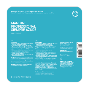 Mancine Siempre Azure Hard Wax - Vogue Beauty