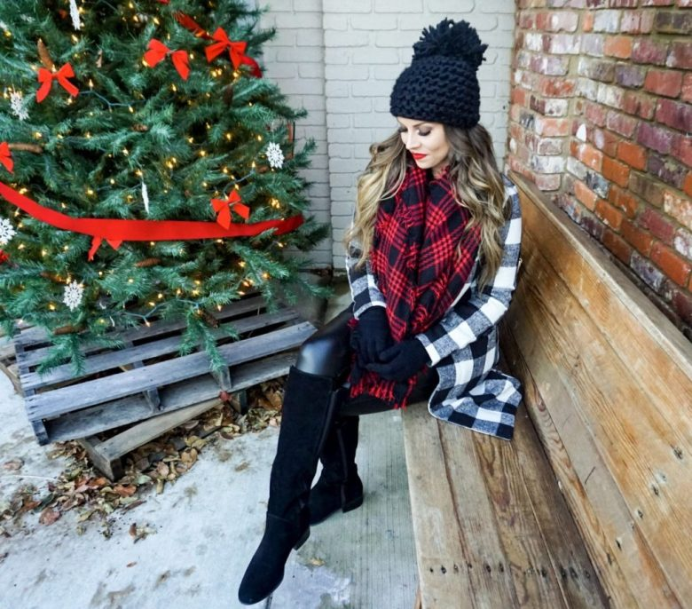 plaid buffalo shein