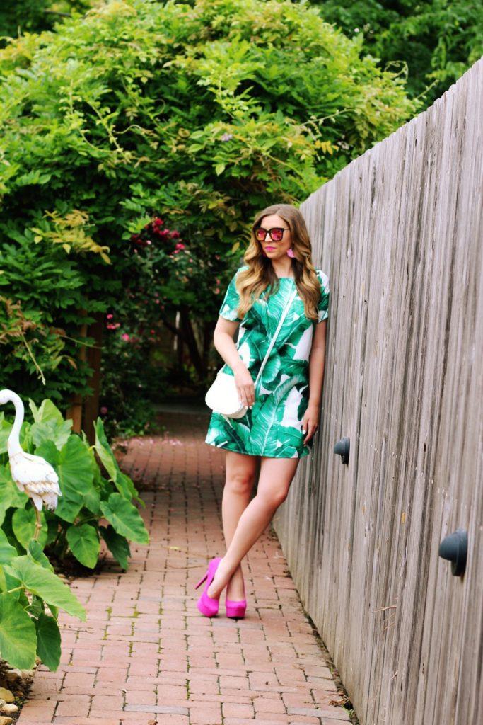 summer-dress-palm-print