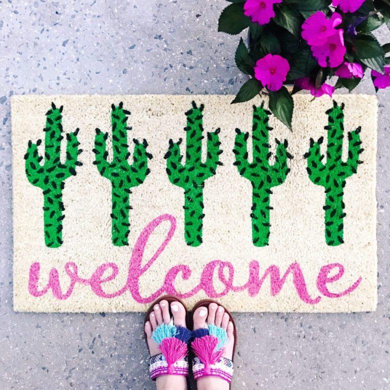 door-mat-cactus