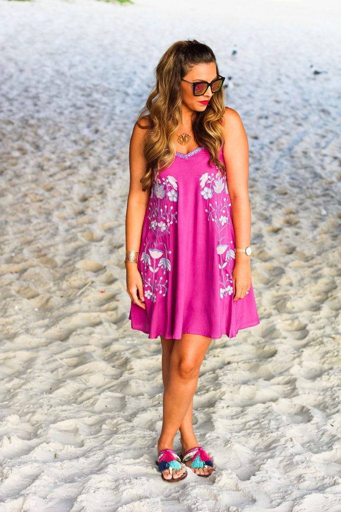 purple-and-pink-embroidered-dress