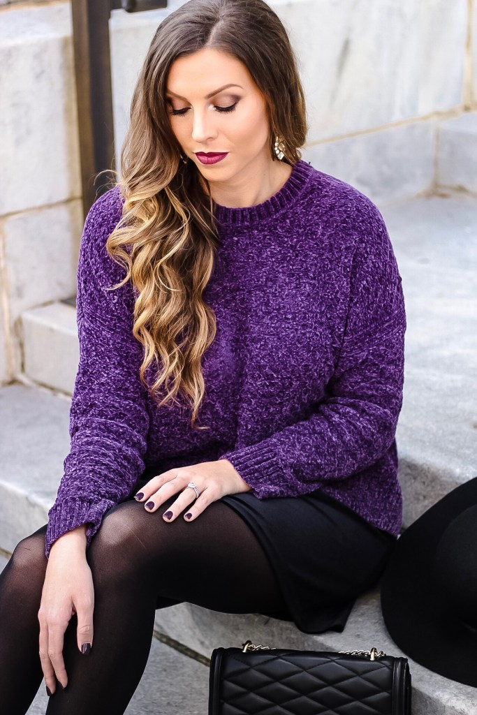 chenille-sweater-outfit