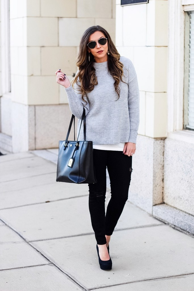 grey-sweater-for-winter