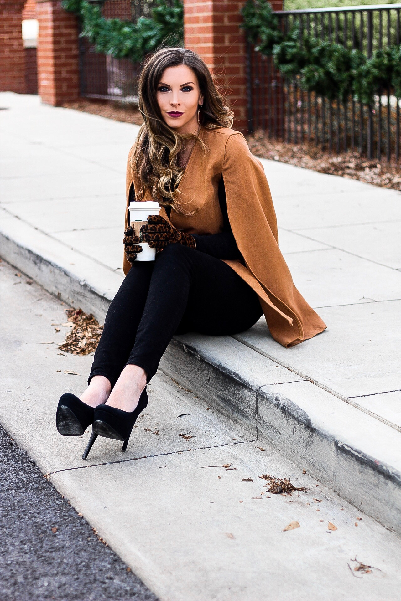 f5b026d1b9 Camel Cape Jacket + SHEIN Winter Wishlist - Vogue for Breakfast
