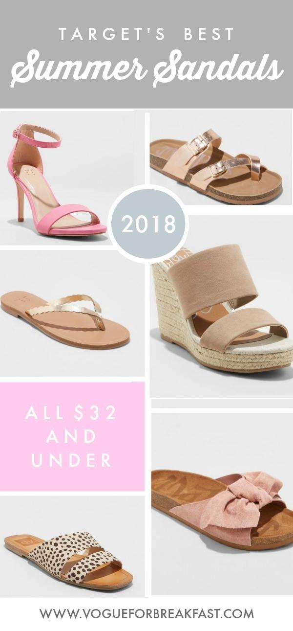 Target's Best Summer Sandals - All